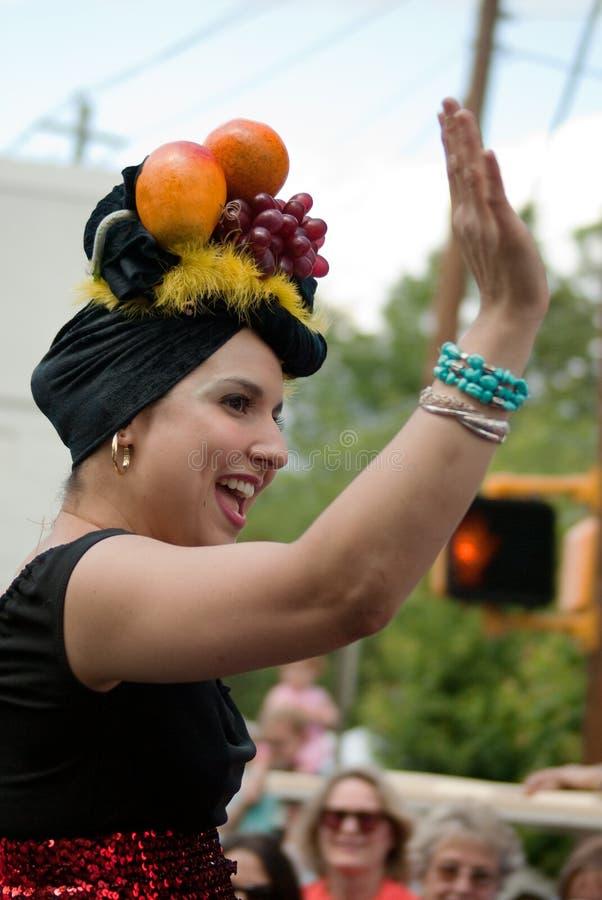 весна парка парада Georgia празднества atlanta inman стоковое фото rf