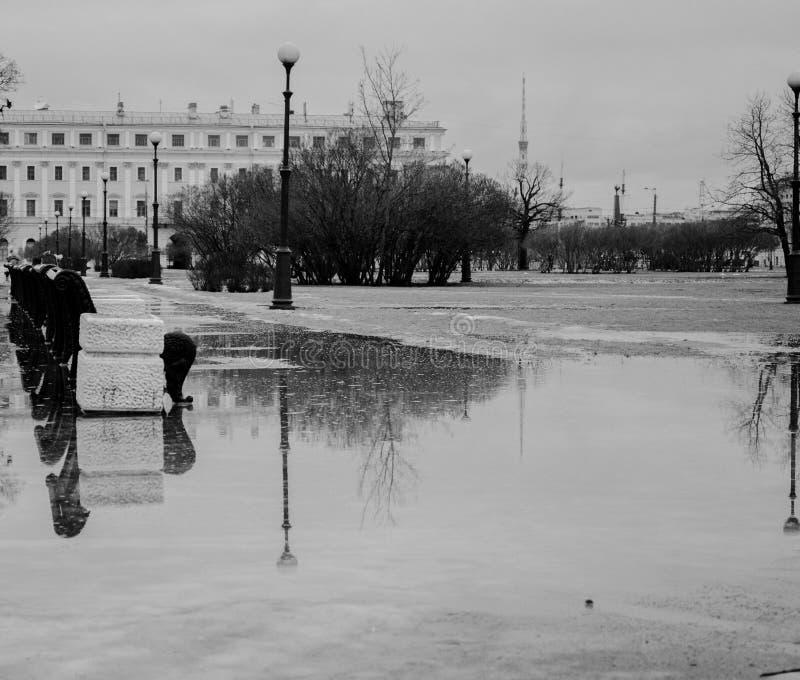 Весна Санкт-Петербург стоковое изображение rf