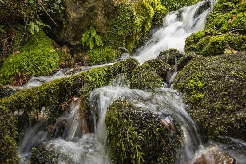 Весна холодной воды города Tepelena стоковые фотографии rf