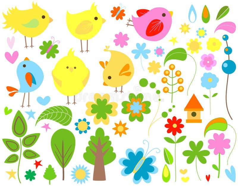 весна иллюстрация вектора