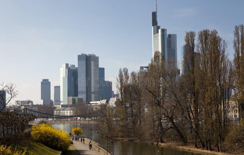 весна frankfurt стоковое изображение
