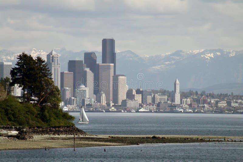 весна Seattle Стоковые Изображения