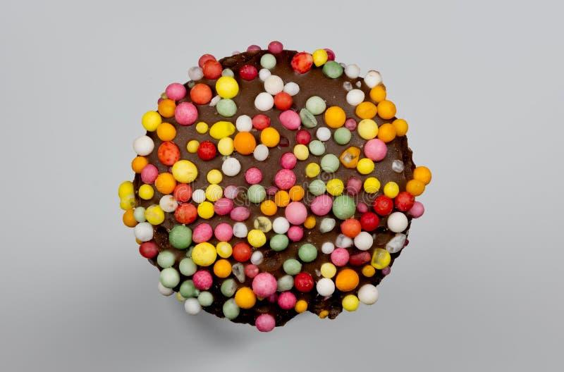 Веснушка на сером цвете стоковые изображения rf