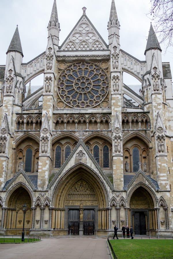Вестминстерское Аббатство в центральном Лондоне главная достопримечательность стоковые фотографии rf