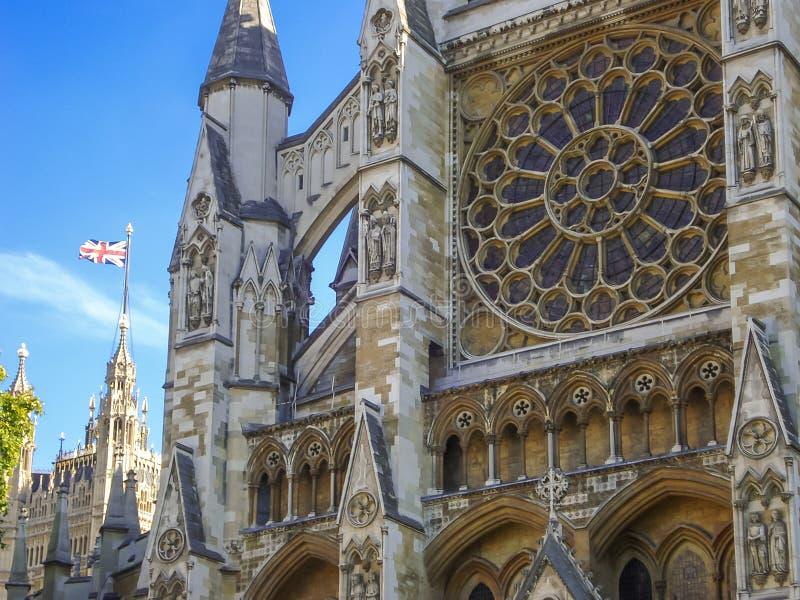 Вестминстерское Аббатство коллигативная церковь St Peter на Westmins стоковое изображение rf