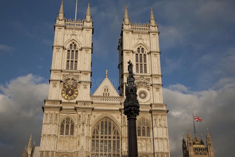 Вестминстерское Аббатство; Лондон стоковые фото