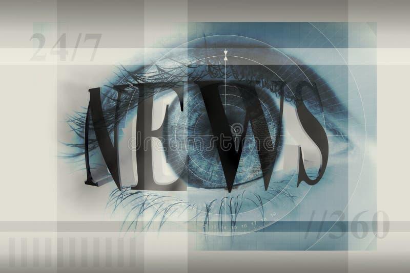 весточка глаза бесплатная иллюстрация