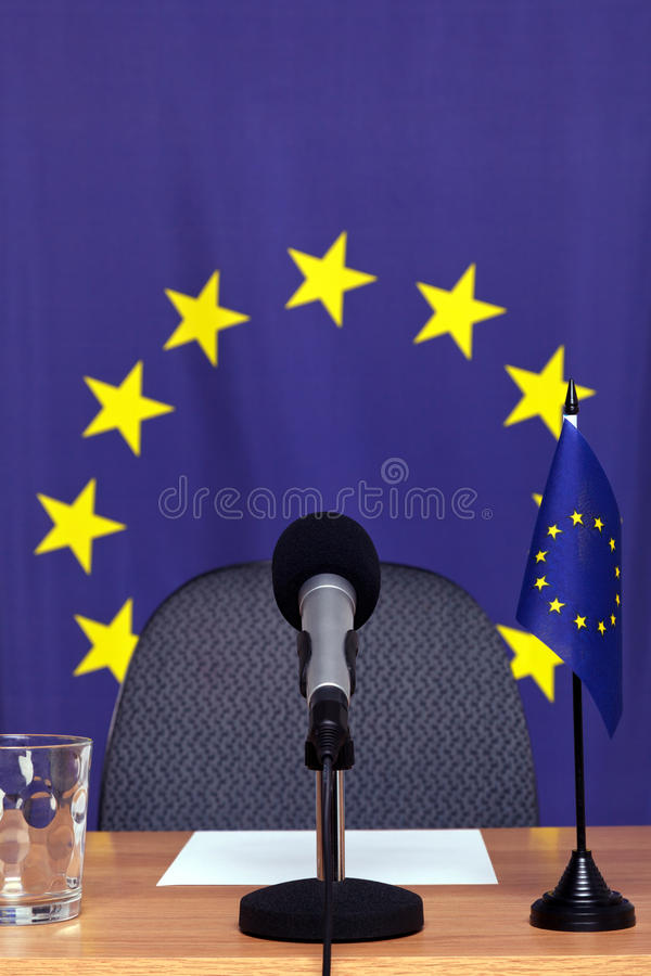 весточка европейца стола стоковое фото