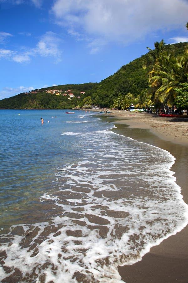 Вест-Инди, остров Guadaloupe стоковое изображение