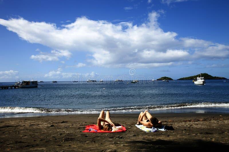 Вест-Инди, остров Guadaloupe стоковая фотография rf