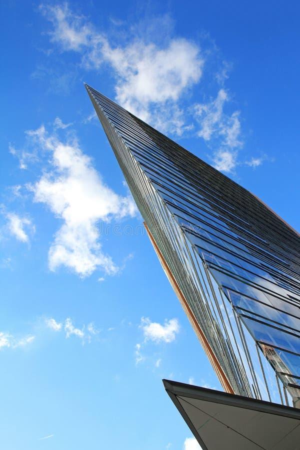 Весьма современная архитектура стоковая фотография rf