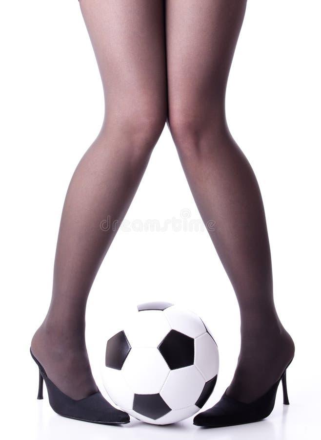 весьма футбол стоковое изображение