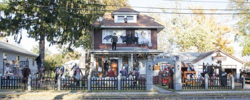 Весьма хеллоуин украшая стоковые фотографии rf