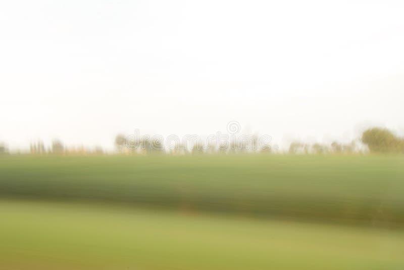 Весьма defocused и неясное изображение дороги в сельской местности стоковое фото