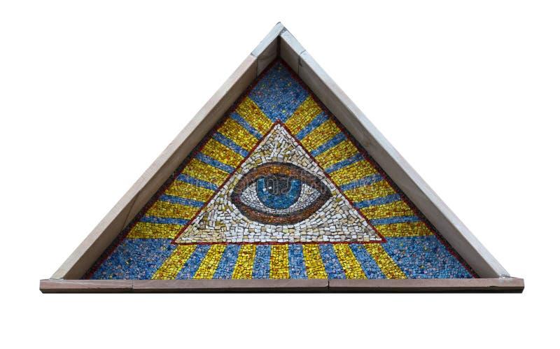 весь видеть глаза стоковое изображение rf