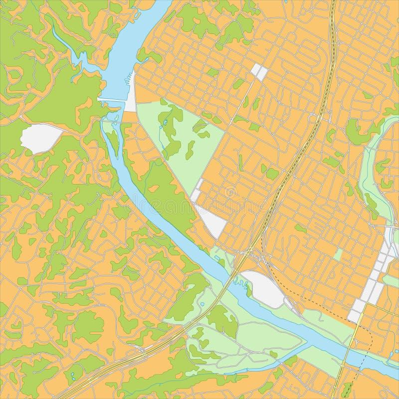 весь город изменения предпосылки красит легкие слои архива элементов карта безшовная выбирает отделенный вектор swatches бесплатная иллюстрация
