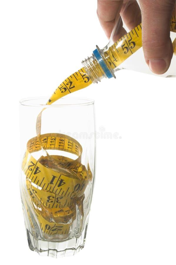 вес потери принципиальной схемы стоковые фото