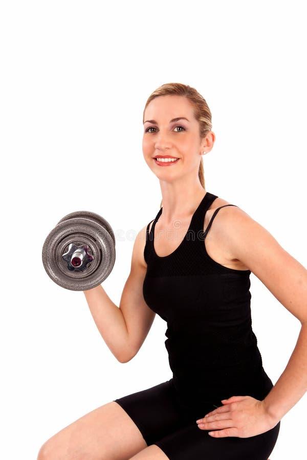 вес тренировки стоковая фотография