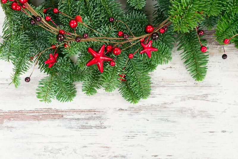 Ветви дерева рождества свежие вечнозеленые стоковые фото