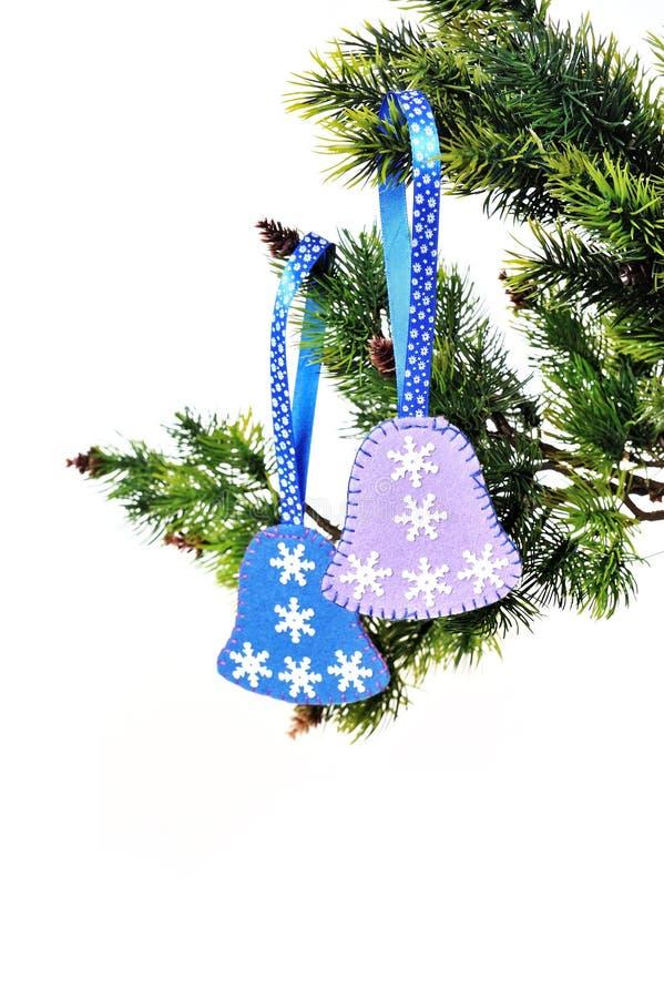 Ветвь рождественской елки стоковые фотографии rf