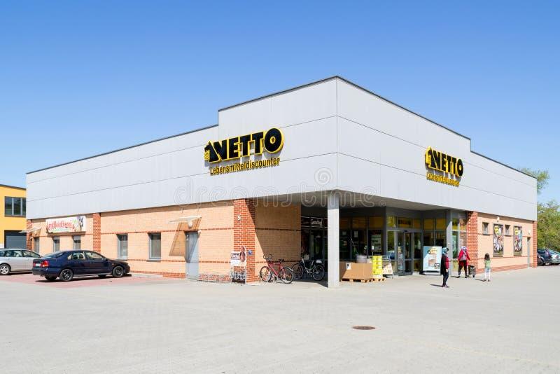Ветвь Netto Lebensmitteldiscounter стоковое изображение rf