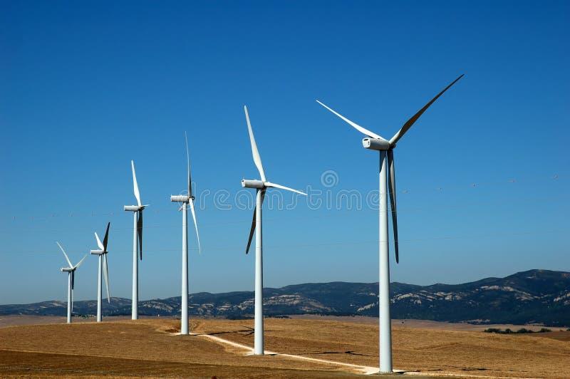 ветер альтернативной энергии стоковые изображения