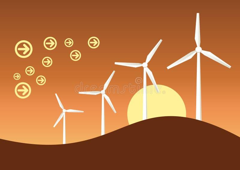 ветер графика генератора бесплатная иллюстрация