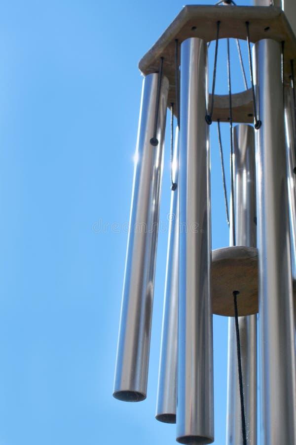 ветер перезвонов стоковая фотография