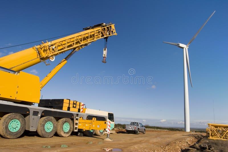 ветер силы завода стоковое изображение