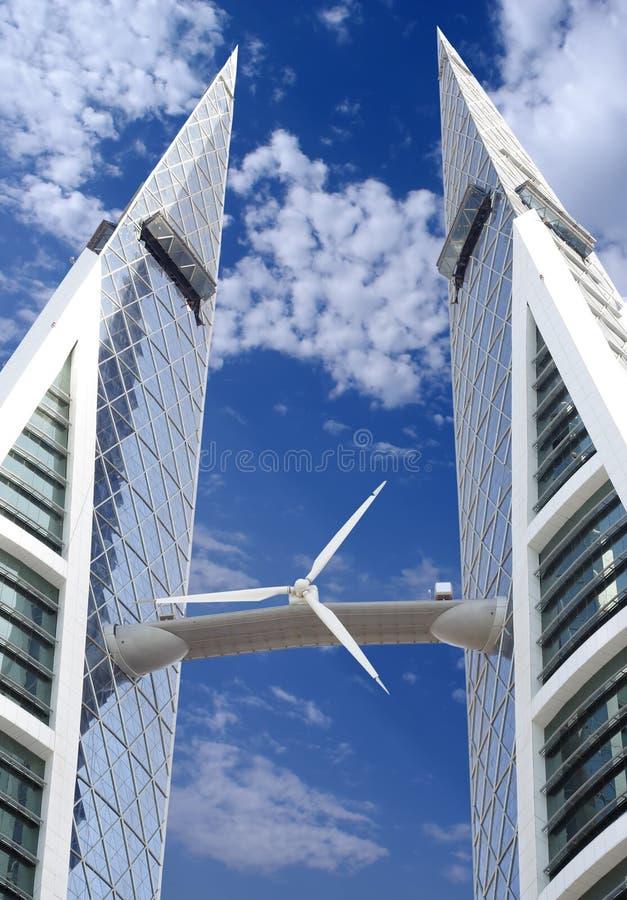 ветер способный к возрождению турбины источника энергии стоковая фотография rf