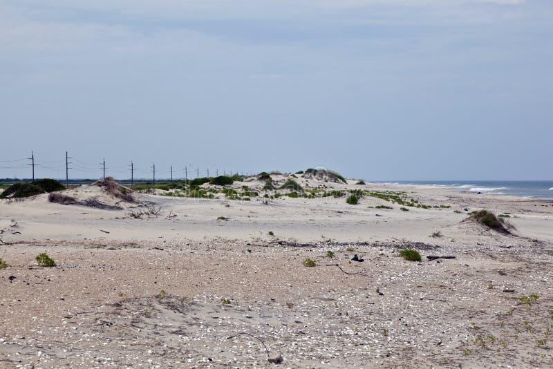 ветер структур форм дюн пляжа стоковые фотографии rf