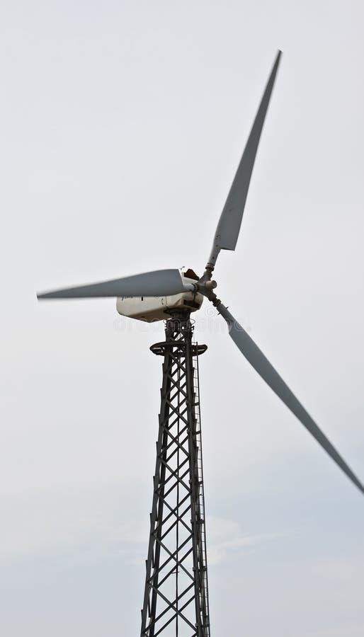ветер турбины электростанции энергии стоковая фотография