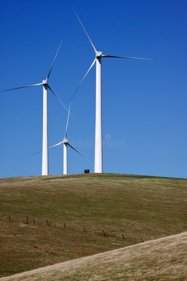 ветер турбин трио стоковая фотография