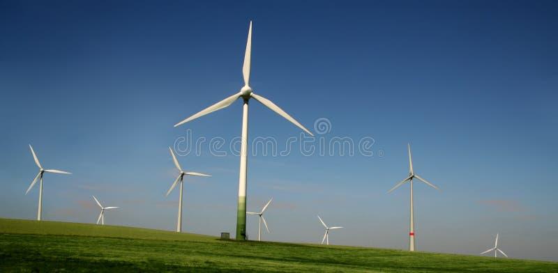 ветер турбин фермы стоковые фото