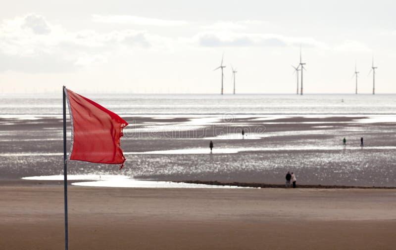 ветер турбин mersey стоковые изображения rf