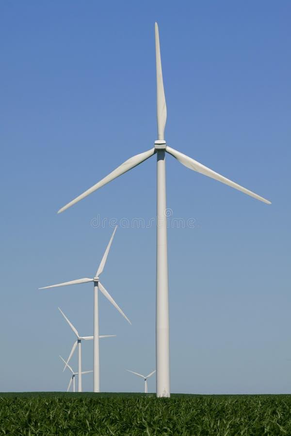 ветер турбин midwest стоковая фотография