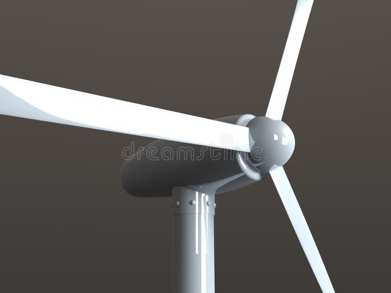 ветер энергии иллюстрация вектора