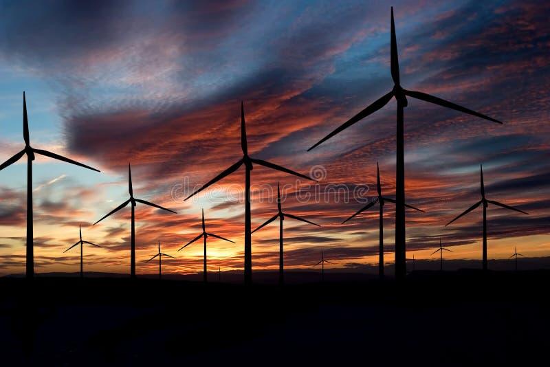 ветер энергии стоковое изображение rf