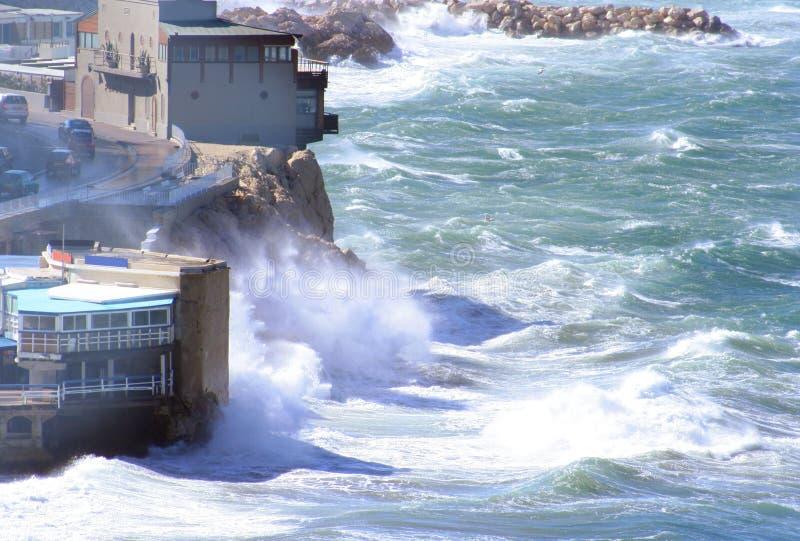 ветер corniche стоковая фотография