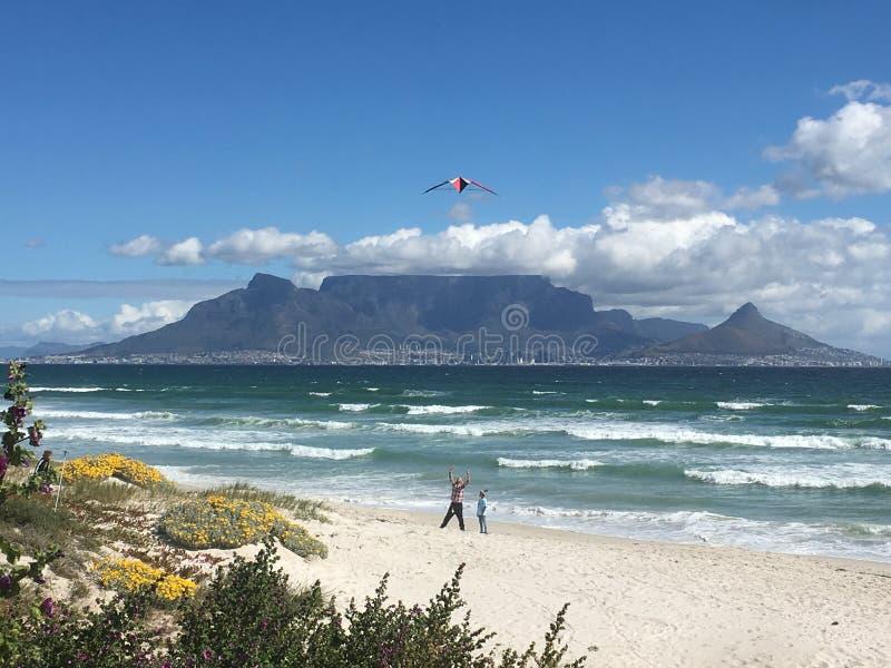 Ветреный Кейптаун стоковое изображение