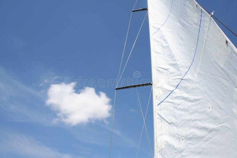 ветрило облака стоковое фото