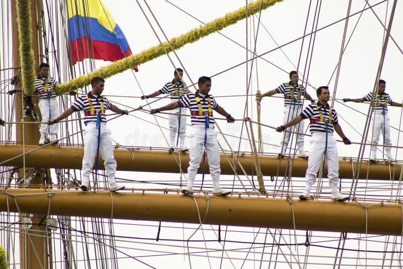 Ветрило Cartagena 2014 стоковые изображения rf