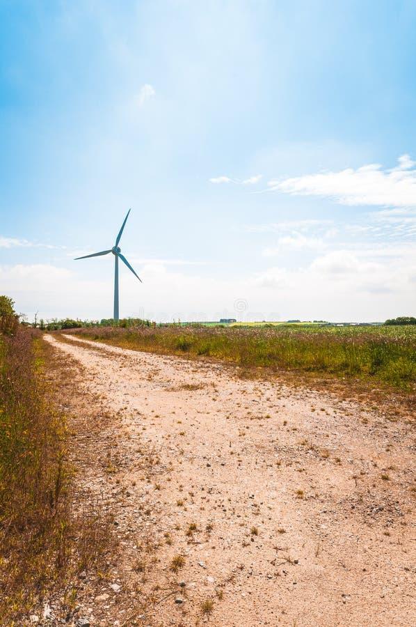 Ветровая турбина стоковые изображения rf