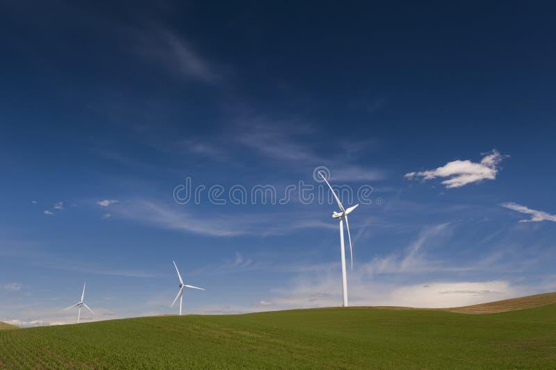 Ветровая электростанция Palouse стоковая фотография