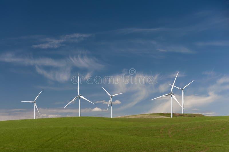 Ветровая электростанция Palouse стоковые фото