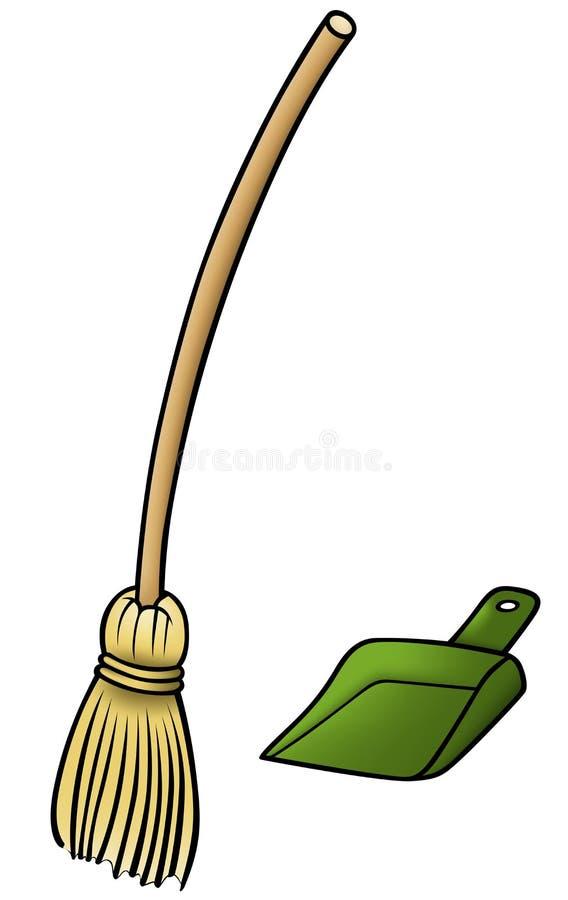 ветроуловитель веника бесплатная иллюстрация