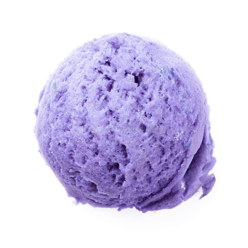 Ветроуловитель мороженого голубики стоковые изображения rf