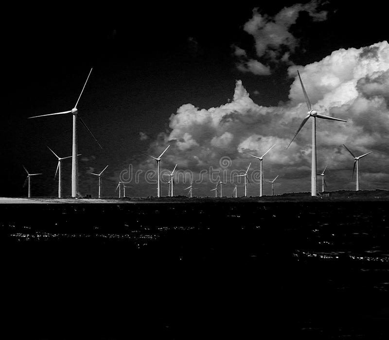 Ветры Acarau стоковое изображение