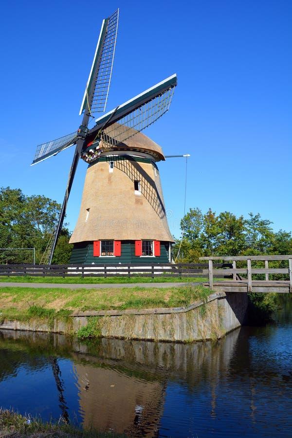Ветрянка в Эдамере стоковые фото