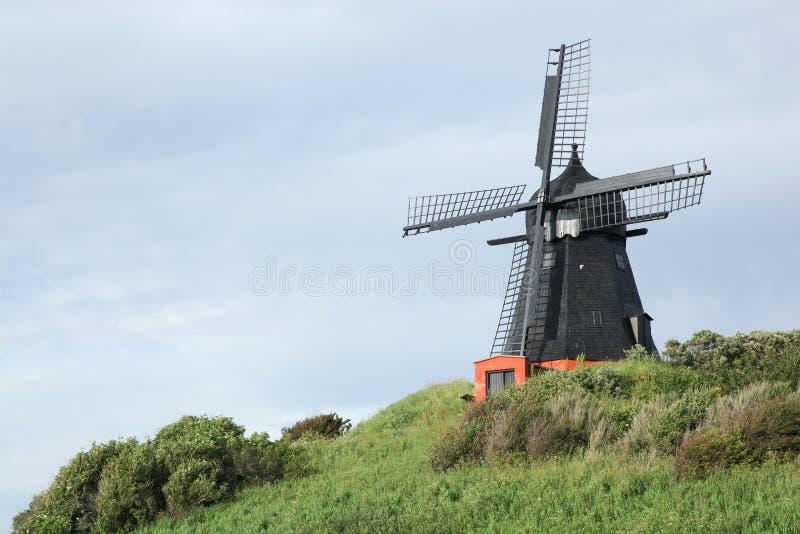 Ветрянка в Borglum в Дании стоковое фото rf